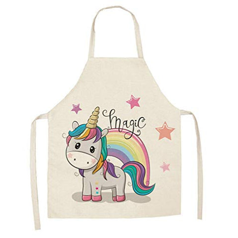 Cute Women's Unicorn Apron | Unicorn Baking