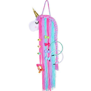 Rainbow Unicorn Hair Accessory Holder