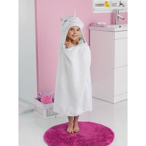 cute unicorn bath towel for girl
