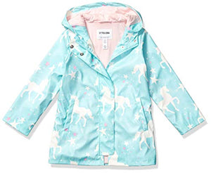 Spotted Unicorn Raincoat | Blue | Kids