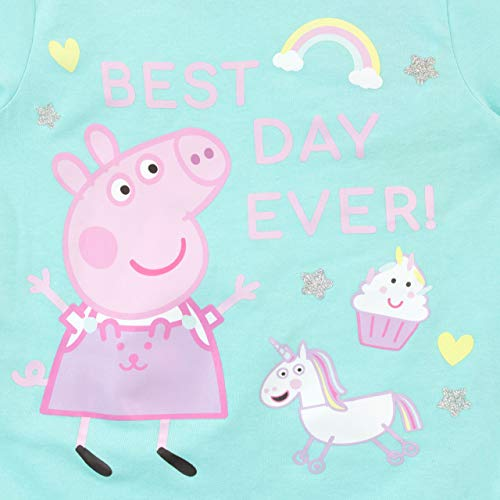 Unicorn Peppa Pig Pyjamas Snuggle Fit Multicoloured
