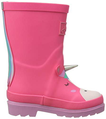 Baby Girls Wellie Boot | Pink Unicorn | Joules