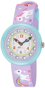 Flik Flak Magical Childrens Unicorn Watch