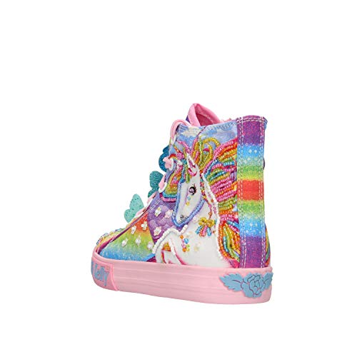 Lelli Kelly Girls Pink Unicorn Multicolour Trainer