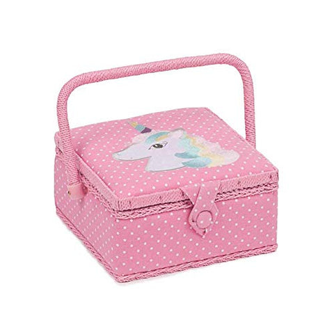 Pink Unicorn Sewing Box | HobbyGift | Crafting
