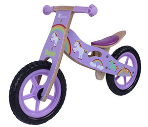 Lilac Unicorn Kids Balance Bike | Kidzmotion | 2-5 Year Olds