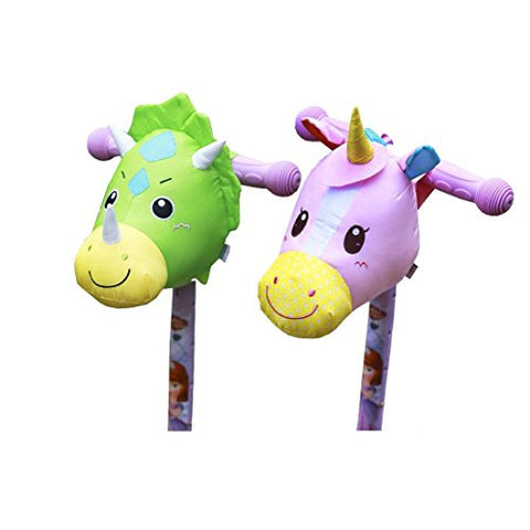 3D unicorn scooter accessory kids scooter