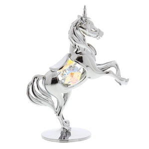 Crystocraft Unicorn Ornament With Swarovski Elements by CRYSTOCRAFT