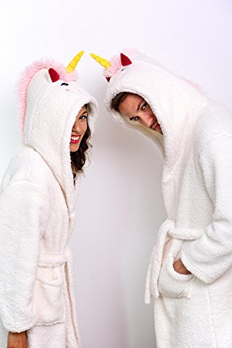 Close Up Unicorn Bathrobe For Adults