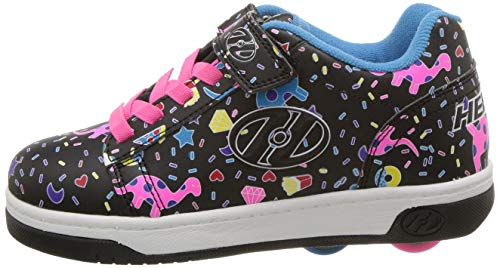 Heelys girls trainer black pink design