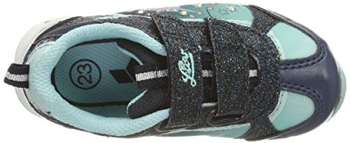Lico Girls' Unicorn Low-Top Sneakers, Blue