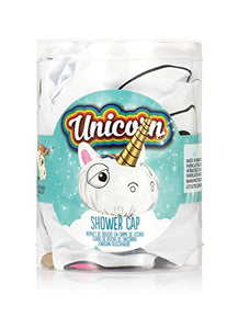 Novelty unicorn shower cap, gift idea.