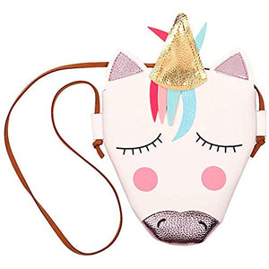 Cute Unicorn Bag Crossbody PU Leather For Girls