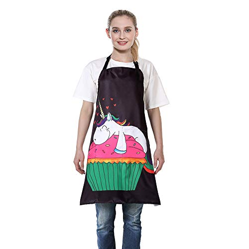 Cute Unicorn Cooking Apron Mothers Day Gift Idea