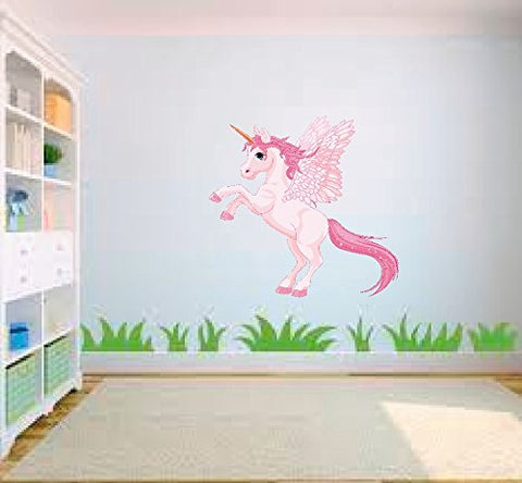 large unicorn wall sticker vinyl
