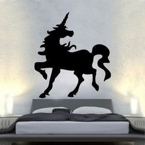 unicorn canvas sticker for above bed wall art adult