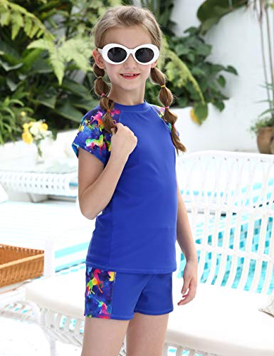 Two piece swimming costume unicorn