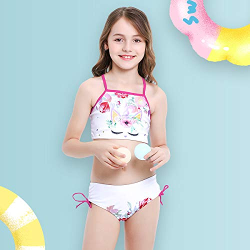 Girls Unicorn 2- Piece Tankini Bikini