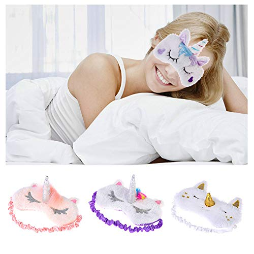 Womens Unicorn Sleeping Masks