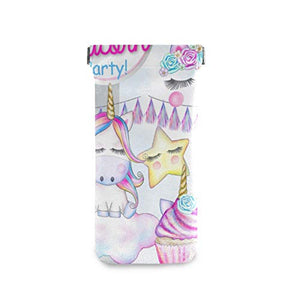 Unicorn Party Sunglasses Pouch Squeeze Top