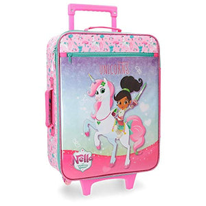 Nella Unicorn Cabin Trolley Suitcase For Kids