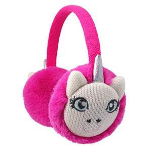 Pink Unicorn Ear Muffs | Girls