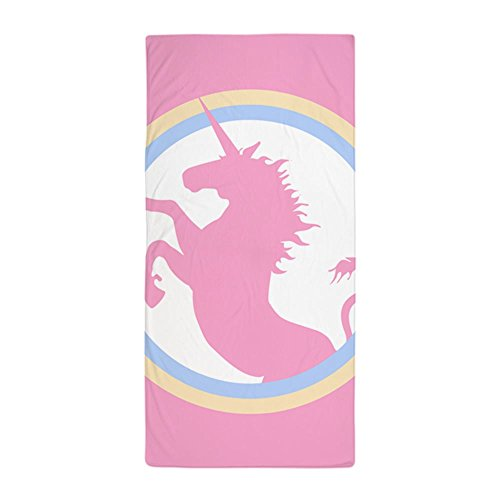 Pink Unicorn Girls Large Beach Towel Stylish Design