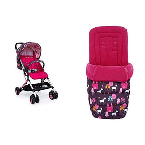 Cosatto Woosh Unicorn Land Stroller And Matching Footmuff Bundle