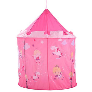 Unicorn Castle pop up tent play house for girls