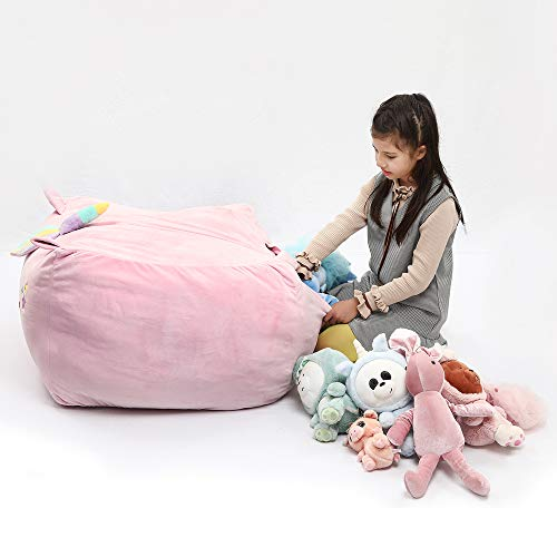 Unicorn storage case beanbag