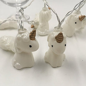Unicorn fairy lights multicolour