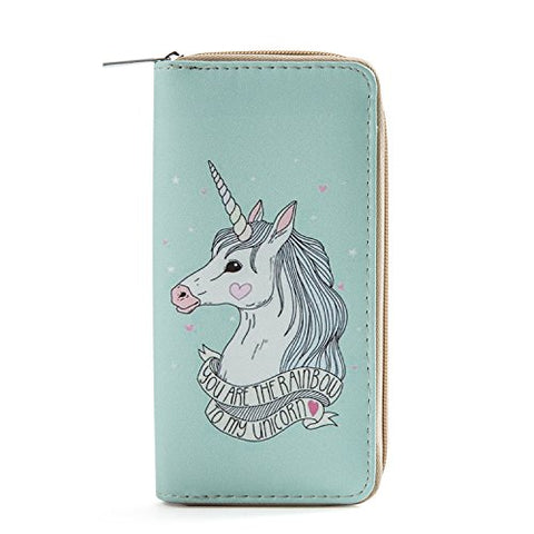 Women's Unicorn Purse | Mint Green | DonDon | You Are The Rainbow