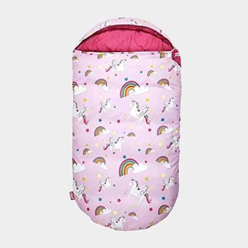 Cute Unicorn & Rainbow Sleeping Bag For Kids