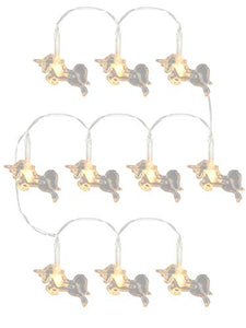 Puckator LED27 Unicorn Wire 10 Lights, White or Pink