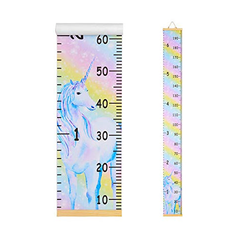 Unicorn Wall Ruler Growth Chart | 20x200 cm | Kids Bedroom
