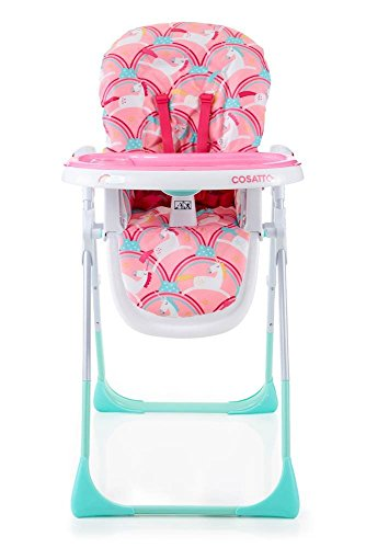 cosatto unicorn themed baby highchair pink baby