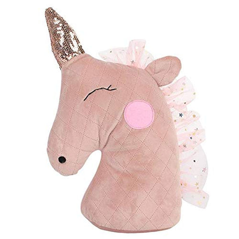 Blush Pink Unicorn Door Stop | Perfect For Child's Bedroom
