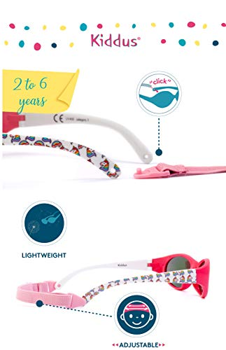 KIDDUS- Unicorn Kids Comfort Sunglasses UV400 Sun Protection