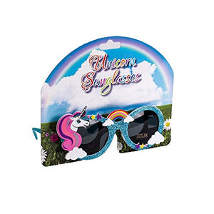 Unicorn Rainbow Cloud Sunglasses- Blue