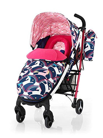 cosatto unicorn pram pushchair push chair stroller buggy rainbows unicorns magic review