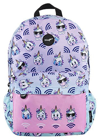Unicorn fringoo lilac backpack