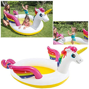Intex 57441NP Mystic Unicorn Spray Paddling Pool