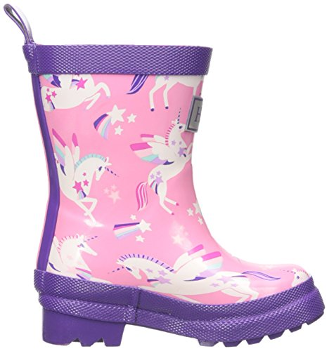 Cute stylish & trendy - Flying magical unicorn welly boots wellington boots, pink
