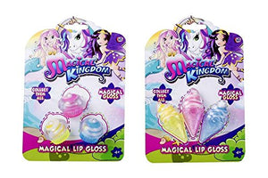 Unicorn Magical Kingdom | Children's Girls Lip Gloss Set