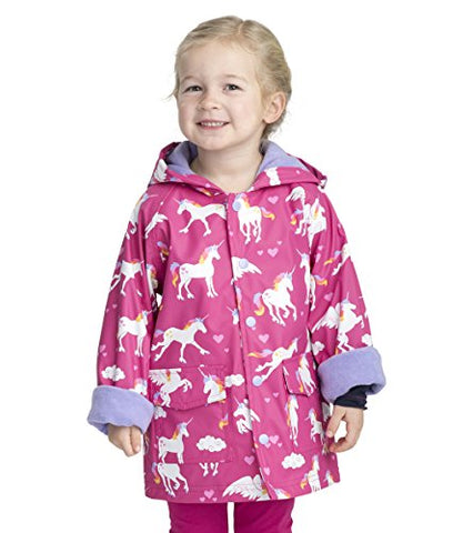 Unicorn rain jacket