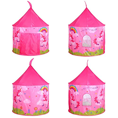 Pink Unicorn Pop Up Tent