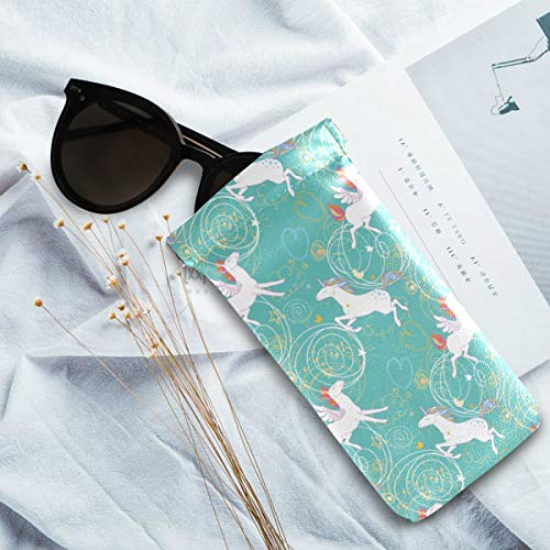 Sunglasses case unicorns stars