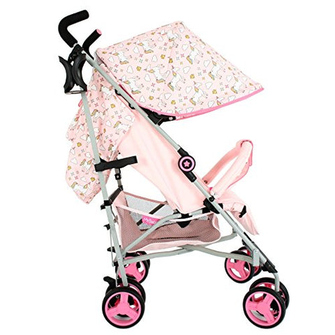 my babiie mb02 unicorn pushchair stroller