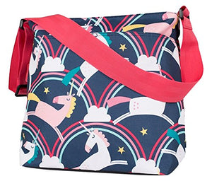 Unicorn rainbow cosatto baby changing bag