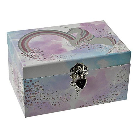 Fantasy Mystical Myth Unicorn Horse Jewellery Trinket Storage Box Dressing Table